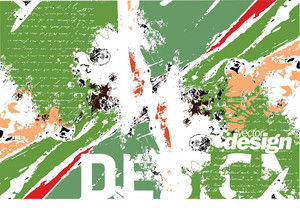 Grunge Green Design