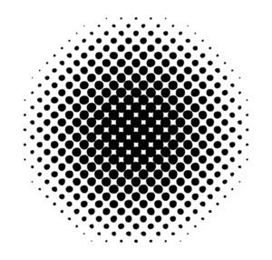 Grunge Halftone Abstract Design