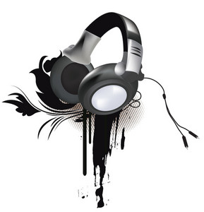 Grunge Headphones