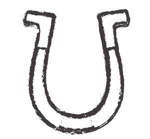 Grunge Horseshoe