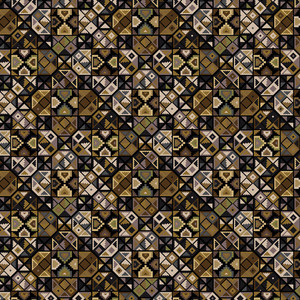 Grunge Inca Pattern. Vector Illustration