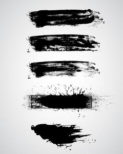 Grunge Lines Vectors