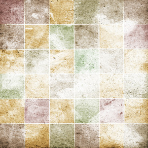 Grunge Mosaic Background