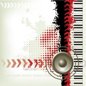 Grunge Music Design