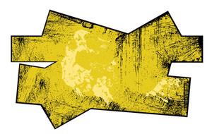 Grunge Overlay Dirty Banner Vector