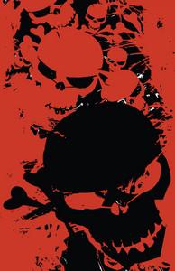 Grunge Skulls