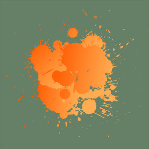 Grunge Splashes - Vector Background