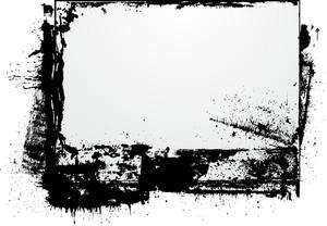 Grunge Splatter Banner