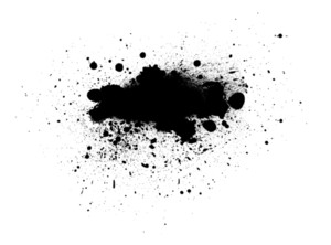 Grunge Stains Vector