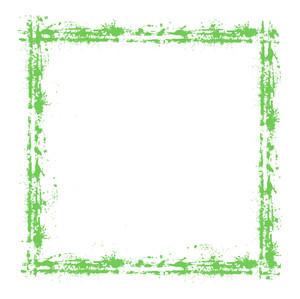 Grunge Strokes Frame Vector Design