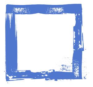 Grunge Strokes Frame