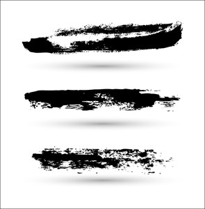 Grunge Strokes Vector Elements