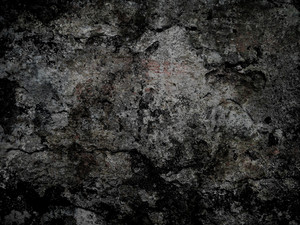 Grunge Surface Black Background