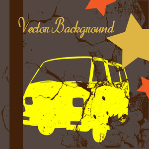 Grunge Texture Car Painting Background