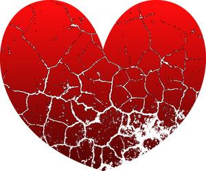 Grunge Texture Heart