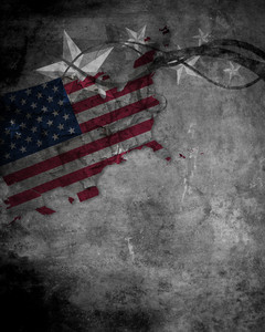Grunge Us Background