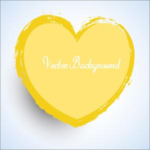Grunge Valentine Heart Frame