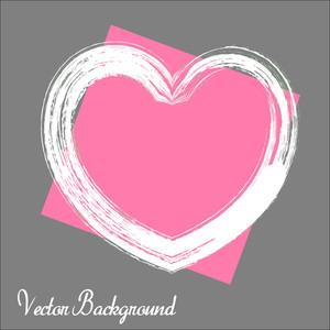 Grunge Valentine's Day Banner