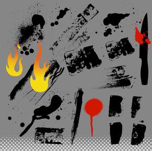 Grunge Vector Elements