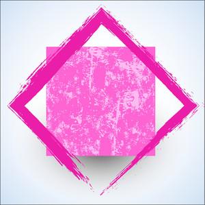 Grunge Vector Frame Shape