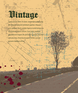 Grunge Vintage Background Vector Illustration