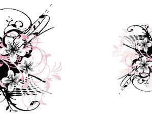 Grungu Floral Pattern