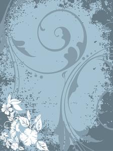 Grungy Background Illustration