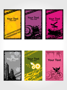 Grungy Banner Illustration