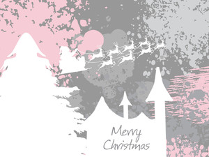 Grungy Christmas Day Background