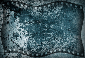 Grungy Film Strip Background