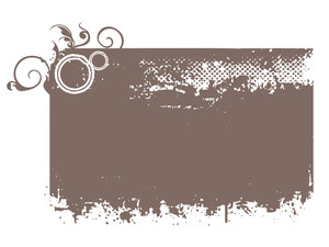 Grungy Frame Illustration