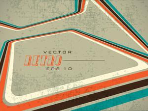 Grungy Retro Background. Eps 1 0