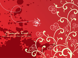 Grungy Romantic Wallpaper
