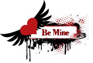 Grungy Valentine's Design