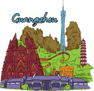 Guangzhou Vector Doodle
