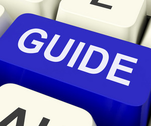 Guide Key Shows Leader Organizer Or Guidance