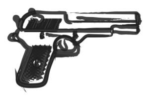 Gun Painting