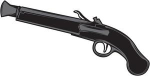 Gun Vector Element