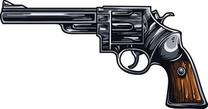 Gun Vector Element
