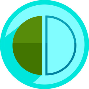 Half Circles Icon