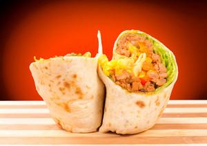 Half Of Burrito