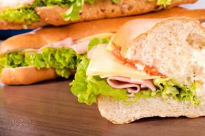 Half Of Sandwich