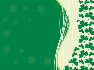 Halftone Background For Patrick Day