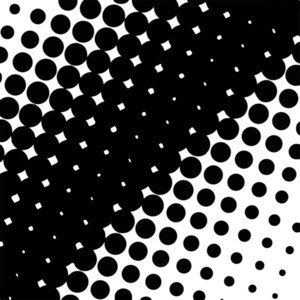 Halftone Design Background