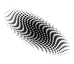 Halftone Design Vector