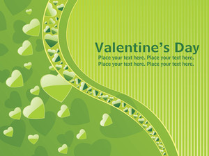 Halftone Pattern Valentine Day Card
