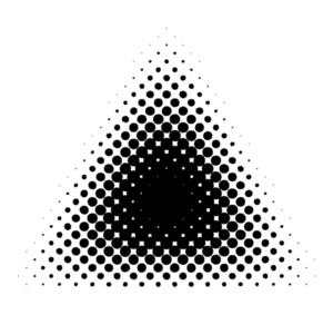 Halftone Triangle