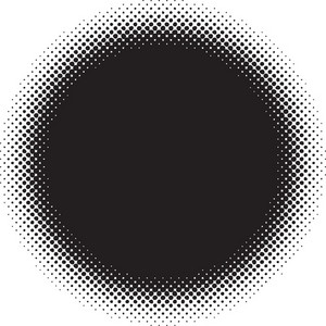 Halftone Vector Element