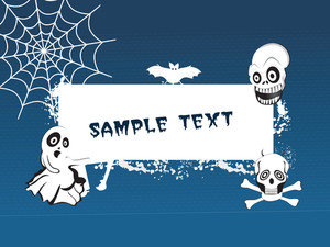 Halloween Background Series5 With Place For Text
