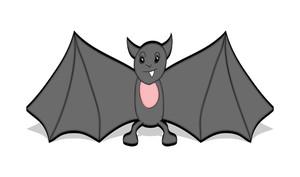 Halloween Bat Vector